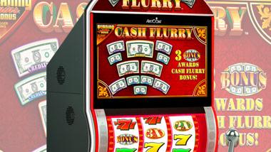 new slot machine cash flurry