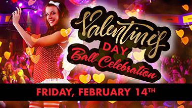 Valentine's Day Ball Celebration at Boogie Nights