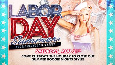 labor day boogie nights theme