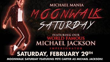 Michael Mania Moonwalk Saturday at Boogie Nights