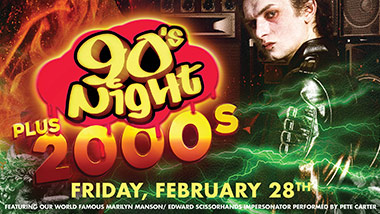 90's Night Plus 2000's at Boogie Nights