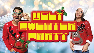 Ugly Sweater Party at Boogie Nights