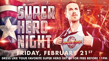 Super Hero Night at Boogie Nights